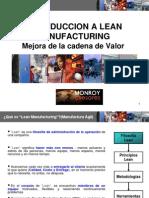 Material Curso Cadena de Valor Lean Manufacturing