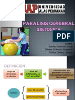 Paralisis Cerebral Distonica