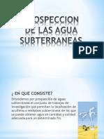 Prospeccion de Las Agua Subterraneas