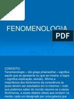 Introduçâo a Fenomenologia
