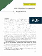 Wandschneider D. (Robert B. Branomds Pragmatische Hegel-Adaptation) Kopie