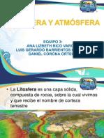 Litosfera y Atmósfera