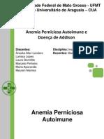Anemia Perniciosa e Doença de Addison