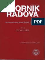 Reljef geomorfoloških makroregija Bosne i Hercegovine