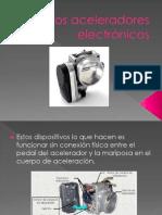 acelerador electronico