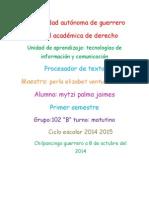 Procesadores de Texto 2