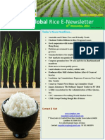 19th November,2014 Daily Global Rice E-Newsletter by Riceplus Magazine