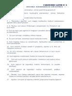 Cuaderno de Latin II Oraciones de Cum Historico