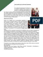 Las Cuatro Pueblos Que Conforman Guatemala