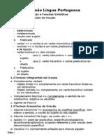 Resumão Língua Portuguesa