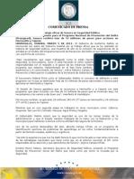 05-03-2013 Gobernador Guillermo Padrés, firmó convenio para el Programa Nacional de Prevención del Delito. B031324