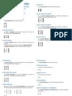 Tipos de Matrices 1