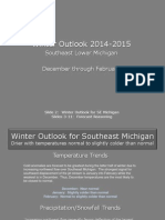 SE Michigan Winter Outlook 2014-2015