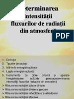 Determinarea Intensităţii Fluxurilor - Meteorologie