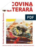 Bucovina literara Octombrie 2014