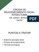 Cirugia de Rejuvenecimiento Facial