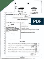 AVELA v. Fleischer Studios, Arent Fox, Manatt Phelps - Betty Boop malicious prosecution complaint.pdf