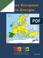 Comparativa Precios Europeos de La Energia  2014