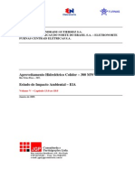 EIA Colider - Volume v - Janeiro 2009