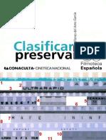 Clasificar Para Preservar - Filmoteca Española