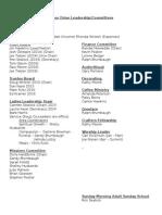 2014 arbor drive leadershipcommittees
