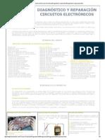 Diagnóstico reparación de Circuitos Electrónicos