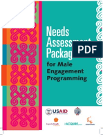 Peace Corps Men as Partners- Needs Assessment Package