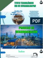 Proceso de Deshidratación Del Gas