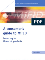 A Consumer's Guide to MiFID