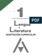 116145786 Adaptacion Curricular 1º Eso Lengua