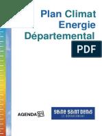 Plan Climat Energie2010