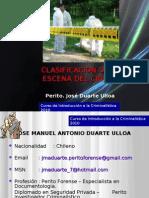 Clasificacion Del Sitio de La Escena Del Crimen.pptjose Duarte Ulloa_jose