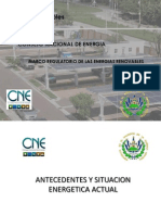 Consejo Nacional de Energia (CNE)