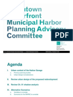 Downtown Waterfront MHPAC Meeting No 20 PowerPoint Presentation 11-19-14