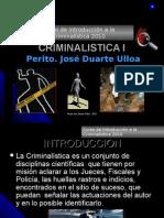 Introduccion a La Historia de La Criminal is Tic A