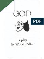 God (play by Woody Allen) program (Stuyvesant HS)