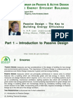 Introduction to Passive Design (Buildings) Sep 2014