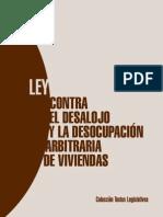Ley Contra Desalojos