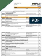 CAT Excavator 330L 9ML Manuals