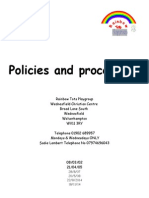 full policy and pocedures