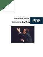 Remus Taşcău. Contribuţii În Muzica Relig Ioasă Corală