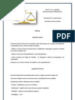 Reflexão Legislação Laboral/Comercial/Administrativa