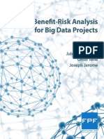 Benefit-Risk Analysis for Big Data Projects