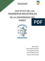 Código Ético de Los Ingenieros Industriales