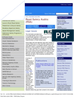 us_fhwa_road safety audits (rsa) - fhwa safety program_legal issues