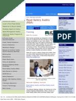 us_fhwa_road safety audits (rsa) - fhwa safety program_training