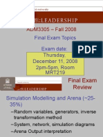 ADM3305 Final Exam Review