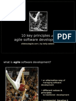 10 Key Principles of Agile Software Development - PP2003