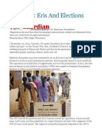 Sri Lanka Eris and Elections