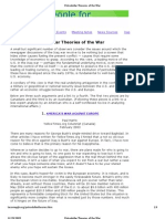 Petrodollar Theories of the War